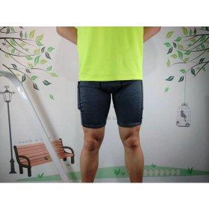 1포켓 4부 타이즈 쓸림방지 남자 마라톤 런닝 바지