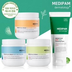 메디팜 대용량크림 500g/수분+미백+진정/시카클렌징폼