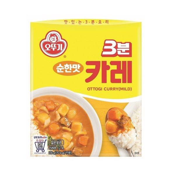 오뚜기_3분카레순한맛_200G