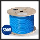 LS전선 정품CAT.6A U/UTP케이블 500M 랜케이블 블루