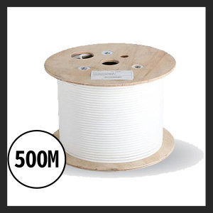 LS전선 정품CAT.6A U/UTP케이블 500M 랜케이블 화이트