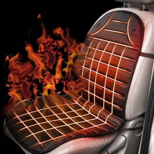 와플형 열선시트 운전석전용 자동차온열매트 차량용시