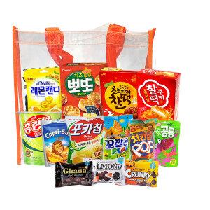 과자세트 종합선물 간식 주전부리 뽀또랑 찰떡/미니