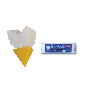 (10개) 바이오 비료 화분 텃밭 식물영양제(5g) 나비1개