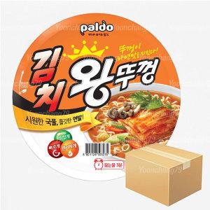 팔도 김치 왕뚜껑 110g 1박스(18개입)