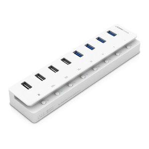 USB 3.0 8포트 허브 UH308 USB2.0 호환 PC 노트북