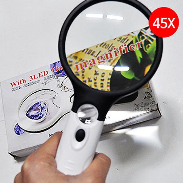 LED돋보기-대 /효도선물/책/신문읽기/확대경