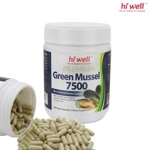 뉴질랜드 하이웰 초록홍합 그린머슬 7500 300야채캡슐