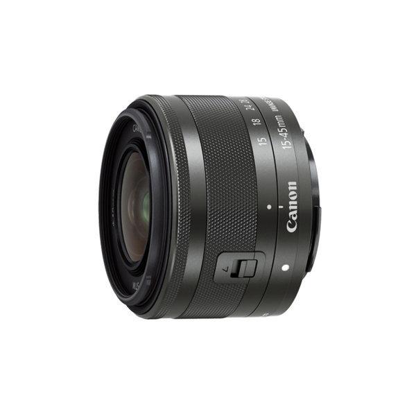 정품 EF-M 15-45mm F3.5-6.3 IS STM 블랙