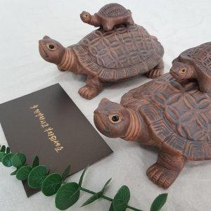 (중형)생기 도자기 거북이 수맥차단 재물복 선물
