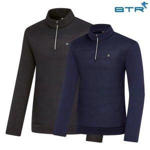 비티알 남성 겨울 반집업 티셔츠 니-스남 BRT0476M