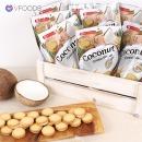 코코넛 크림 비스킷 10봉세트 태국과자 개별위생포장
