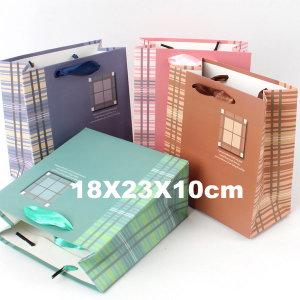 종이쇼핑백 선물가방 종이가방 포장가방 /중형 윈도우