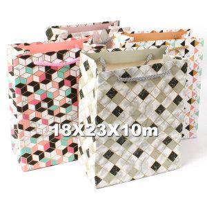 종이쇼핑백 선물가방 포장가방 /중형 스칸디나비아