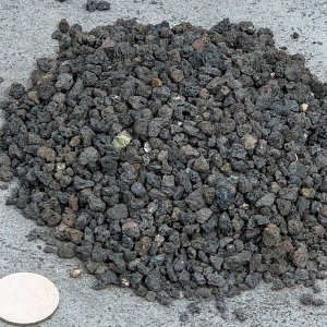 화산사(흑색)10키로 1호-자갈 분갈이흙 화분 조경정원