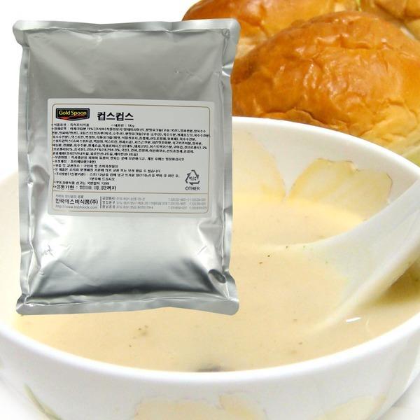 한국 에스비 즉석 양송이스프 (대용량 1kg) 1봉