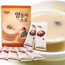 한국에스비 컵스 즉석 양송이스프 (50개입) x 1통