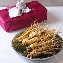 금산인삼 명절 선물세트2호300g 인삼꽃+수삼5뿌리내외