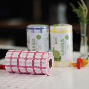 칸칸 일회용 행주 빨아쓰는 주방 위생 항균 타올(50매)