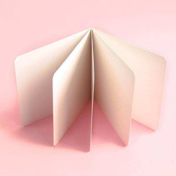 종이 책만들기 북아트 무지 5p 스크랩북 UFCNT0231