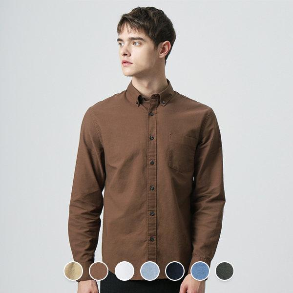 지오다노  049905 옥스포드 셔츠 (솔리드)