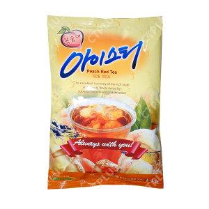 아이스티 홍차 음료수 대호 복숭아 아이스티 1kg x 12