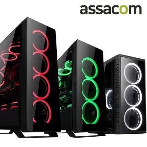 인강 사무용 i3 10100F/GT710/SSD120G/4G 조립컴퓨터