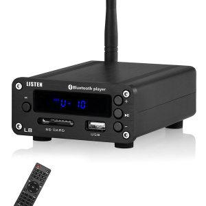 미니 앰프 헤드폰 앰프 블루투스/USB/SD 카드/RCA/FM