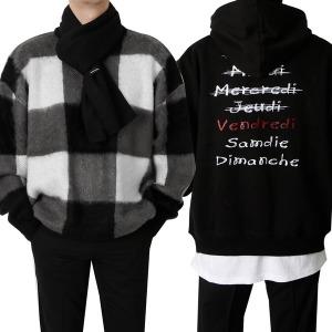 남자 기모 후드티/맨투/티셔츠/목폴라/뽀글이/후리스