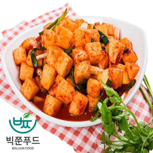 빅쭌김치  깍두기 5kg 국산재료 국내산 김치 빅쭌김