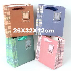 종이쇼핑백 선물가방 종이가방 포장가방 /대형 윈도우