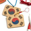 우드팬시 우리나라 태극기 만들기 미술재료 KDPWD0280