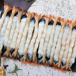 껍질없는 튀김용새우 노바시새우 30미x2팩