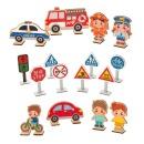 민화샵 교통안전표지판 만들기 2종 안전표지판 표지판