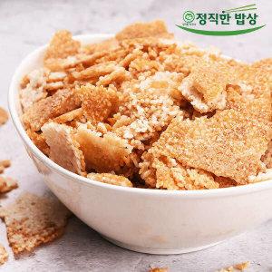 (현대Hmall) 정직한밥상  구수하고 바삭한 국내산 누룽지 1kg x 2팩 지퍼백포장