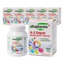 알타파마 A-Z 멀티비타민+미네랄 100정 6개 묶음