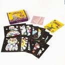 포일아트 스티커 동물왕국박스 12도안세트 미술 놀이