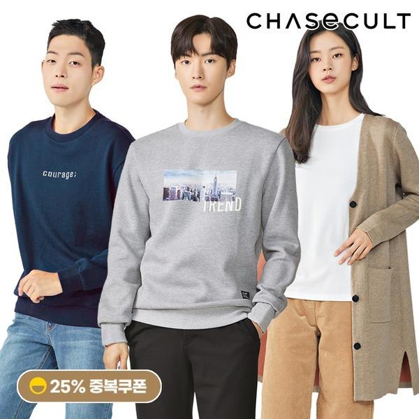 체이스컬트 새해특가 인기상의 티셔츠/니트