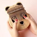 민화샵 칼림바 17음계 손가락 엄지 피아노 민속악기