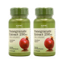 2개 GNC 석류 Pomegranate 추출물 250mg 50 캡슐