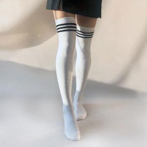 여자 오버니삭스 무지앤링글 겨울 긴목양말 wk002