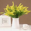 더설렌 인테리어소품 라벤더 부쉬 조화(옐로우)꽃장식