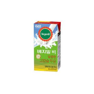 베지밀B 달콤한 고칼슘두유 190ml 16팩 x4박스