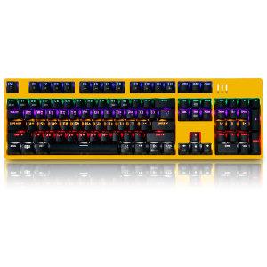 앱코 K660 완전방수게이밍 기계식키보드 옐로우리니어
