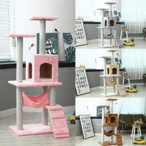 고양이 캣타워 하우스 큐티캣타워176 핑크