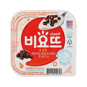 서울 비요뜨 초코링 143g 12개