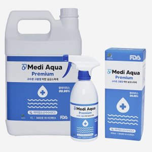 4L+ 500ml 살균소독제 차아염소산수 코로나 방역 리필