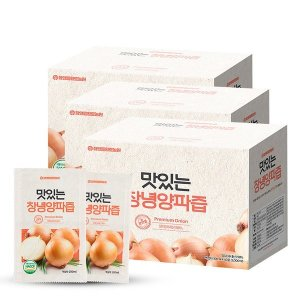 (참앤들황토농원) 참앤들황토농원 맛있는 양파즙 100ml x 50포 3박스