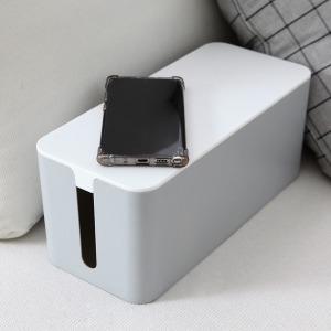 심플 케이블 멀티탭 정리함 콘센트 전선 수납 박스