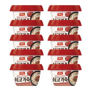 동원 양반죽 쇠고기죽 285g x 10개 /즉석죽/즉석식품